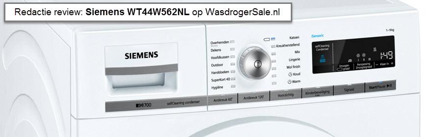 Siemens WT44W562NL review - test door onze redactie