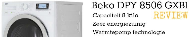 Samenvatting van de Beko DPY 8506 GXB1 test