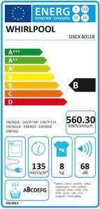 Whirlpool-DSCX-80118-energielabel