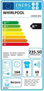 Whirlpool-Green850-energielabel