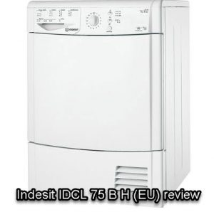 Indesit IDCL 75 B H (EU) review