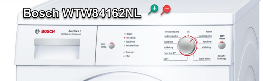 Bosch WTW84162NL alle voordelen en nadelen van de Bosch warmtepompdroger