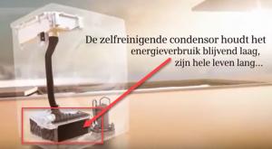 Zelfreinigende condensor alleen op Siemens warmtepompdroger