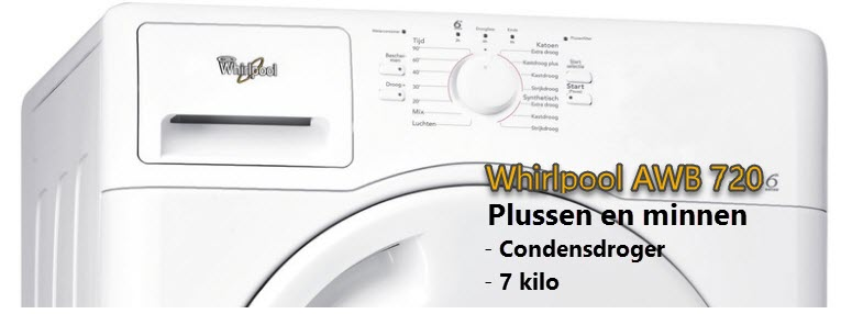 Review van de Whirlpool AWB720