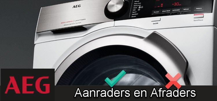 AEG wasdroger - alle testgegevens