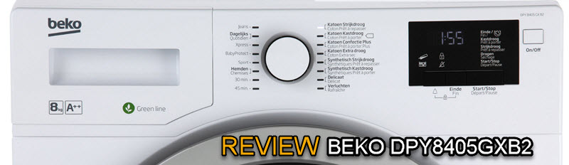 Uitgebreide BEKO DPY8405GXB2 review