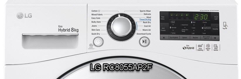 LG RC8055AP2F getest en beoordeeld