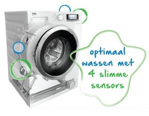 Sensoren op de wasdroger