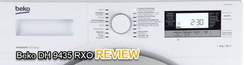 Beko DH 9435 RXO review - vergelijkingstest wasdrogers met een warmtepomp