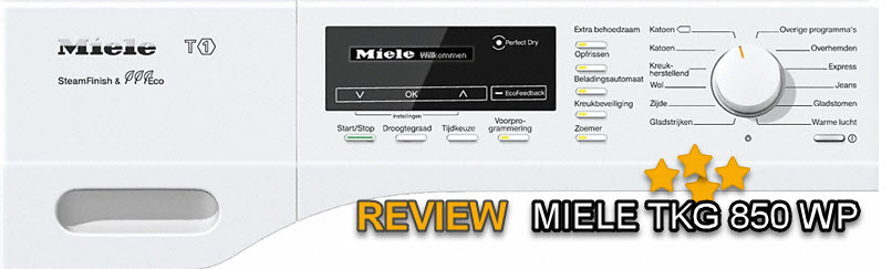 Miele TKG 850 WP review