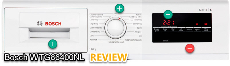 Bosch WTG86400NL review - alle voordelen en nadelen