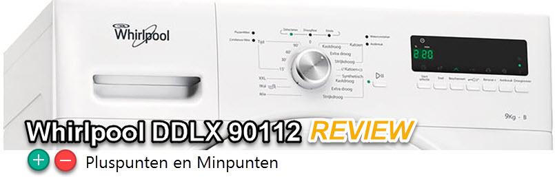 voordelen en nadelen in deze whirlpool DDLX 90112 review