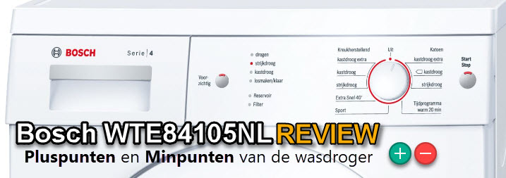 Bosch WTE84105NL review - alle pluspunten en minpunten