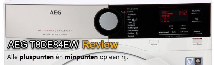 AEG T8DE84EW review door de redactie
