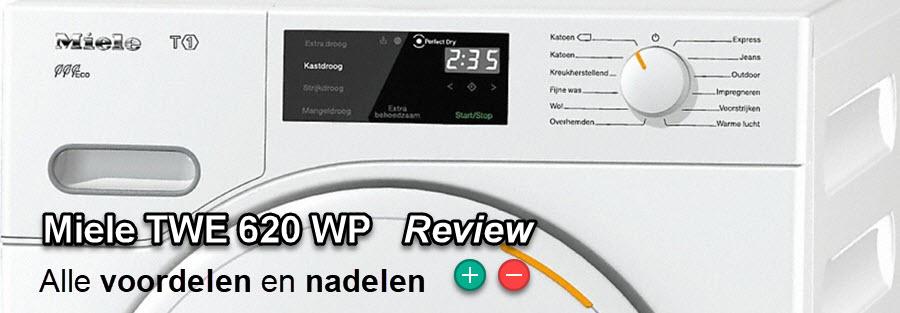 Uitgebreide Miele TWE 620 WP review met de voordelen en nadelen die ons opvallen