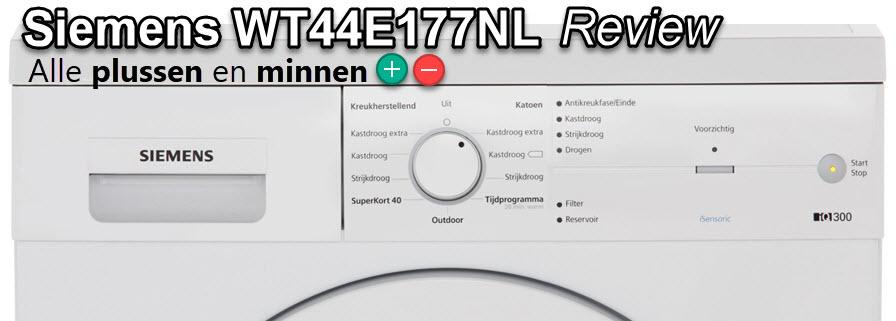 Uitgebreide Siemens WT44E177NL review met testscores
