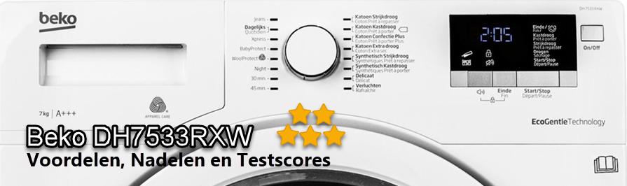 Beko DH7533RXW review en testscores