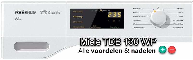 Miele TDB 130 WP review met testgegevens