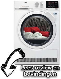 AEG T8DB84GW review en ervaringen