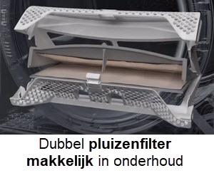 Onderhouden van het pluizenfilter
