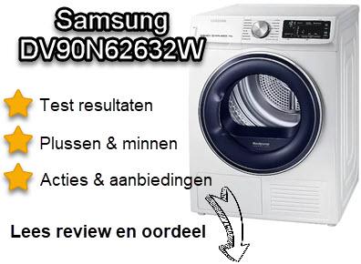 Samsung DV90N62632W review met oordeel van WasdrogerSale