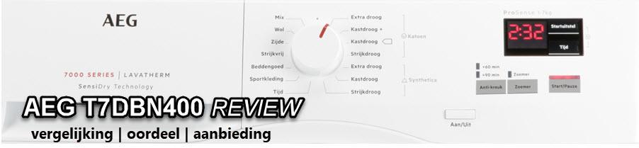 Aeg T7DBN400 review door WasdrogerSale redactie