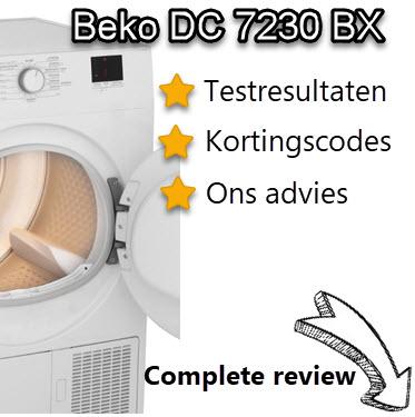 Beko DC 7230 BX review