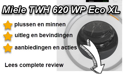 Miele TWH 620 WP Eco XL test en oordeel