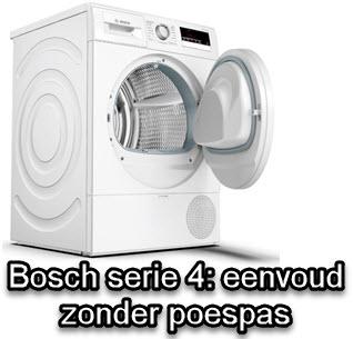 meer over Bosch warmtepompdrogers