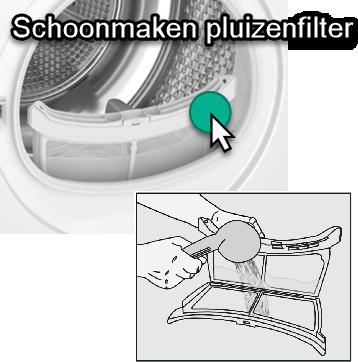 onderhouden en schoonmaken pluizenfilter