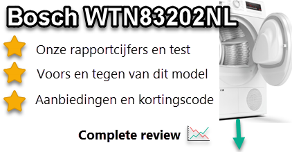 Bosch WTN83202NL review