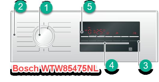 Bosch WTW85475NL review met uitleg over bediening en start met drogen