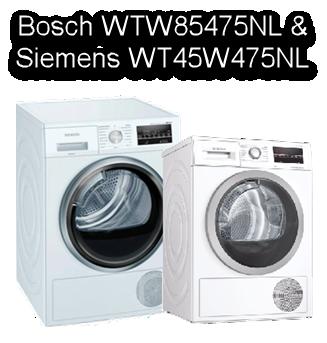 review Bosch WTW85475NL versus Siemens WT45W475NL
