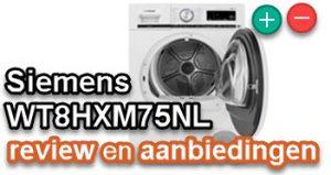 wat moet je weten over de Siemens WT8HXM75NL?