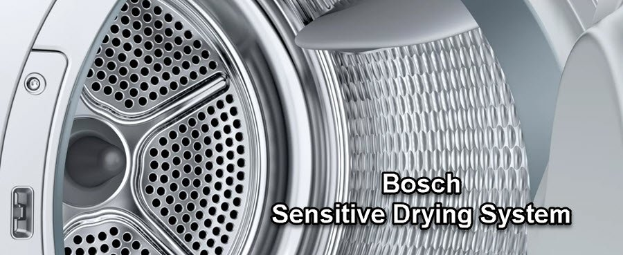 Bosch Sensitive Drying System trommelstructuur