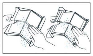 noodzaak van schoonmaken pluizenfilter warmtepompdroger