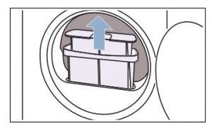 schoonhouden van het pluizenfilter