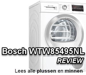 Bosch WTW85495NL review