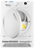 Zanussi ZDC8203P review